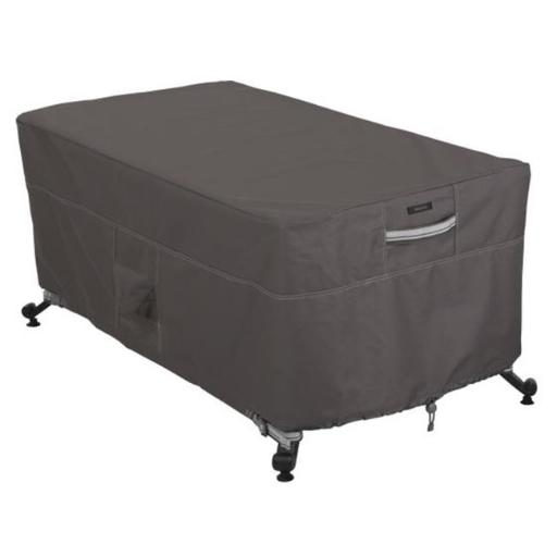 Rectangle Fire Table Cover, Taupe