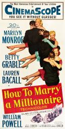 How To Marry A Millionaire Movie Poster Masterprint EVCMCDHOTOFE019LARGE