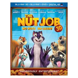 Nut job 3d combo pack (blu ray 3d/blu ray/dvd/digital hd w/uv) (3-d) BR61128666