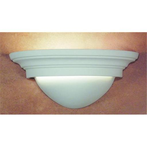 A19 101 Minorca Wall Sconce - Bisque - Islands of Light Collection