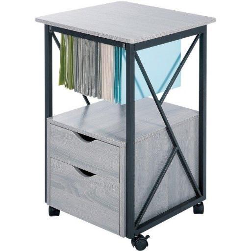 Safco SAF1906GR Mood Collection Office Storage Pedestal, Gray