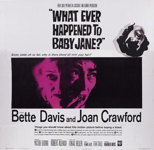 What Ever Happened To Baby Jane Movie Poster Masterprint JGIRWACNR0PDDACA