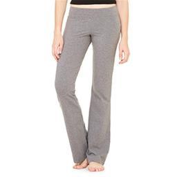 Bella-canvas B810 Womens Cotton Spandex Fitness Pant - Deep Heather, Medium