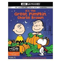 Peanuts-its the great pumpkin charlie brown (blu-ray/4k-uhd/ultraviolet) BR650973