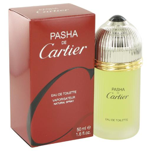 3 Pack PASHA DE CARTIER by Cartier Eau De Toilette Spray 1.6 oz for Men Launched by the design house of Cartier in 1992, Pasha De Cartier is classified as a sharp, spicy, lavender, amber fragrance. This masculine scent possesses a blend of mint, citrus, wood, musk and amber. It is recommended for daytime wear.