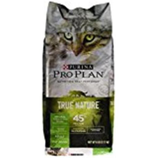 Provi 381039 6 lbs Pro Plan True Natural Turkey Rice Food for Cat - Pack of 5