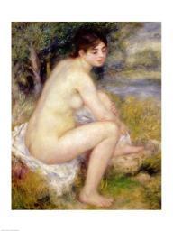 Nude in a Landscape, 1883 Poster Print by Pierre-Auguste Renoir BALXIR19114