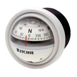 Ritchie V-57W.2 White Compass