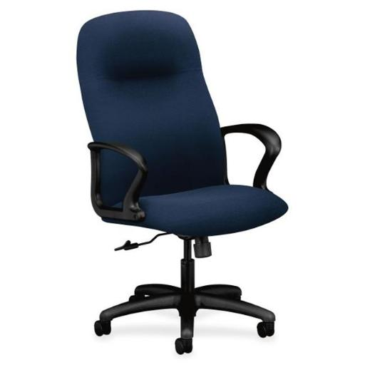 The HON HON2071CU98T Executive High-Back Office Chair with Arms, Navy