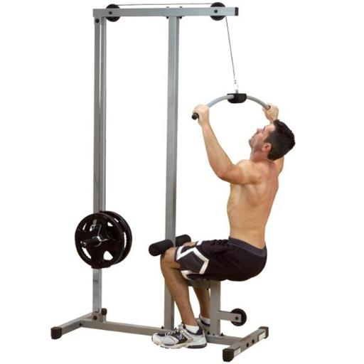 Body Solid PLM-180X Powerline Lat Pulldown Machine with Low Row