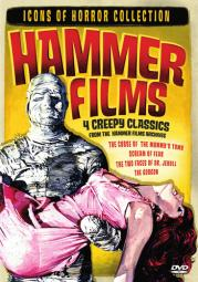 Icons of horror-hammer films (double feature) (dvd/2 disc) D27107D
