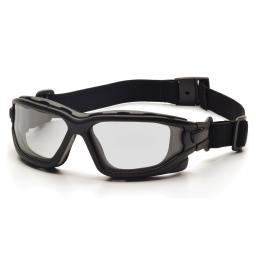 Pyramex sb7010sdt pyramex i-force black frame clear af lens sealed eyewear