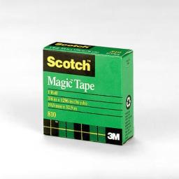 "Scotch 810 Transparent Tape, 3/4""x36 Yd"