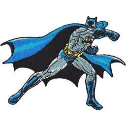 """Dc Comics Patch-batman Punching 3.5""""x4.5"""""""