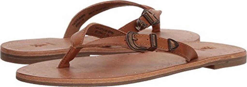 72ebfffa9782b1 FRYE Frye Womens Ally Western Flip Flop Leather Open Toe Beach Slide ...