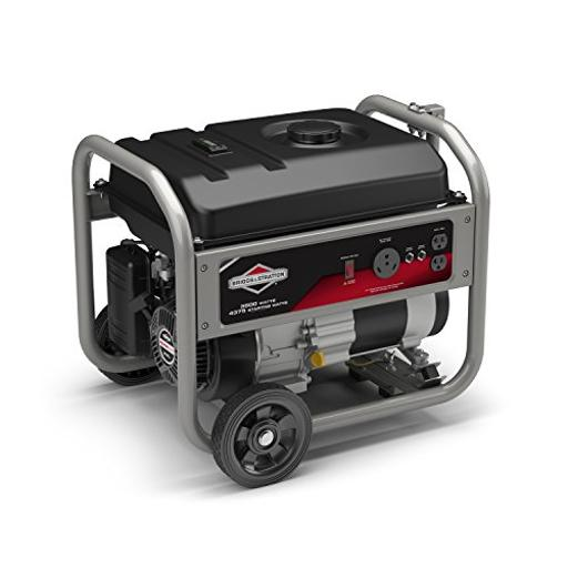 Briggs & Stratton 30676 3500 Running Watts/4375 Starting Watts Gas Powered Portable Generator With Rv Outlet