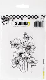 Carabelle Studio Cling Stamp A7-flowers