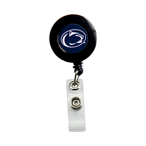 Sports Team Logo Penn State Nittany Lions Badge Retractable Badge Reel Id Ticket Clip