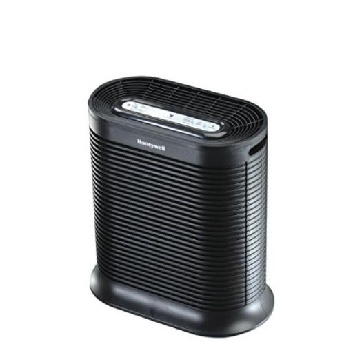 Honeywell Allergen Remover, HPA200, Black Large Room Air Purifier: Recommended for Large Rooms (Up to 310 Square Feet) This True Hepa Allergen Remover Air Purifier Helps Capture Up to 99.97 Percent of Airborne Particles As Small as 0.3 Microns*Easy to Use; With quiet operation, Easy Tap controls & an Auto Off Timer, this air purifier helps remove particles like pet dander, pollen, dust, mold & smoke, & helps capture certain germs & reduce odors*HONEYWELL AIR PURIFIERS: Our air purifiers help remove allergens, dust & odors; If you have allergies, pets or stale indoor air, air purifiers help remove airborne particles & help improve air quality*FILTER & CIRCULATE: Honeywell Air Purifiers filter & circulate air in the stated room size up to 5 times an hour; Breathe easy knowing the air in your home is fresher & cleaner with fewer allergens*HONEYWELL QUALITY: Improve your air quality & neutralize odors for a clean & healthy breathing experience year round with Honeywell replacement filters for air cleaners & purifiers