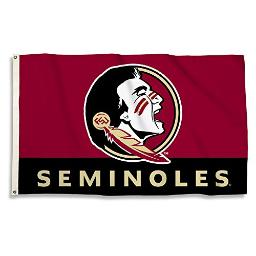 BSI NCAA College Florida State Seminoles 3 X 5 Foot Flag with Grommets
