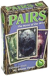 cheapass games Pairs Name of The Wind Modegan game