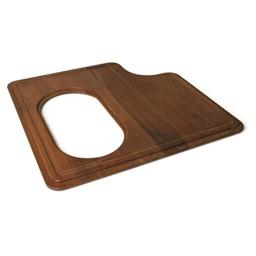 Franke PS19-45SP Professional Solid Wood Cutting Board with Stainless Steel Colander