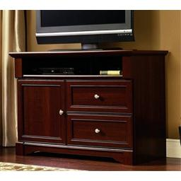 "Sauder 411626 Palladia High Boy TV Stand, For Tv's up to 50"", Select Cherry finish"