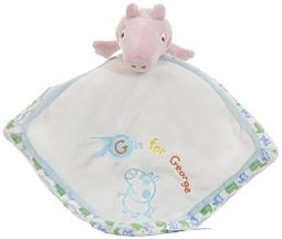 George Pig Comfort Blanket For Baby, By Rainbow Designs.