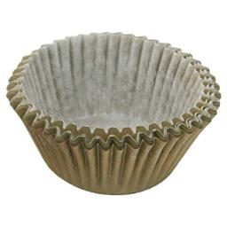 Cupcake Creations Solid Gold Baking Cup, Set of 32