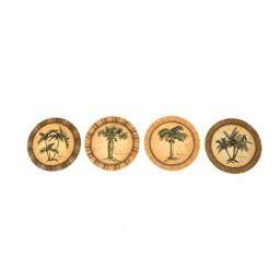 Palm Trees Absorbent Coasters