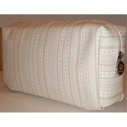 Origins Small Size Cosmetic Travel Case Bag off White