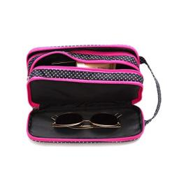 Versatile Travel Makeup Bag - Large Cosmetic Pouch - Travel Organizer For Your Cosmetics