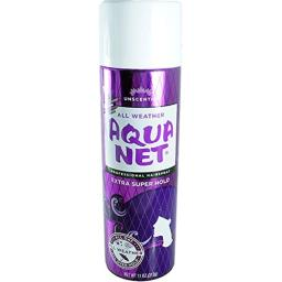 Aqua Net Extra Super Hold Professional Hair Spray Unscented 11 oz (Pack of 6)