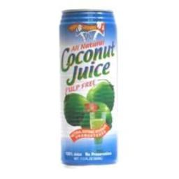 Amys and Brian Pulp Free Coconut Juice, 10 Ounce - 24 per case.