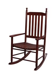 Gift Mark Adult Tall Back Rocking Chair - Cherry