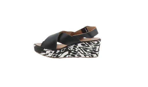 a2ffc221ff5 Clarks Clarks Leather Cross Band Wedge Sandals Stasha Hal Clarks ...