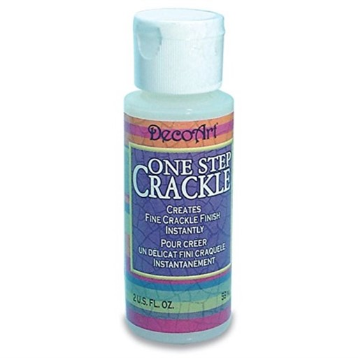 DecoArt DS69-3 One Step Crackle Paint, 2-Ounce