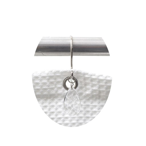 Carnation Home Fashions Prism Resin Shower Curtain Hooks in Super Clear