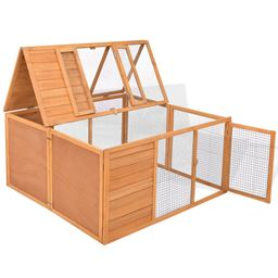 47 Wooden Small Animals Cage with Two Doors""