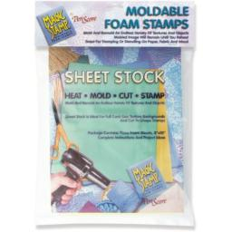Magic Stamp Moldable Foam Stamps 3/Pkg Sheet Stock
