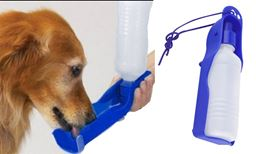 Premium New 2-in-1 Foldable Pet Water Bottle & Drinking Bowl-Blue
