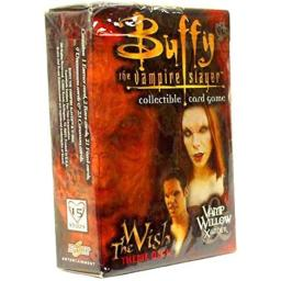 Buffy the Vampire Slayer Card Game Class of 99 The Wish Theme Deck Vamp Willow Xander