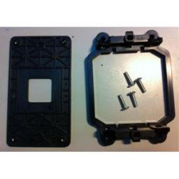AMD [Back Plate and Four Screws Included] CPU Fan Bracket Base for FM1 Socket
