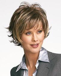 Raquel Welch Boost Sweeping Layered Comfort Cap Wig, Soft Shades Golden Wheat by Hairuwear