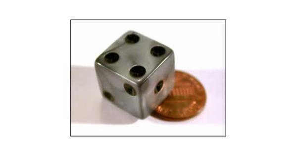 Silver Olympic Rounded 16mm D6 12ea by Koplow Games Silver Olympic Rounded 16mm D6 12ea by Koplow Games