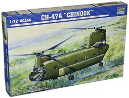 Trumpeter 1/72 CH47A Chinook Medium-Lift Helicopter