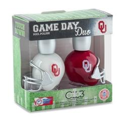 Oklahoma Sooners Game Day Duo Nail Polish by Color Club