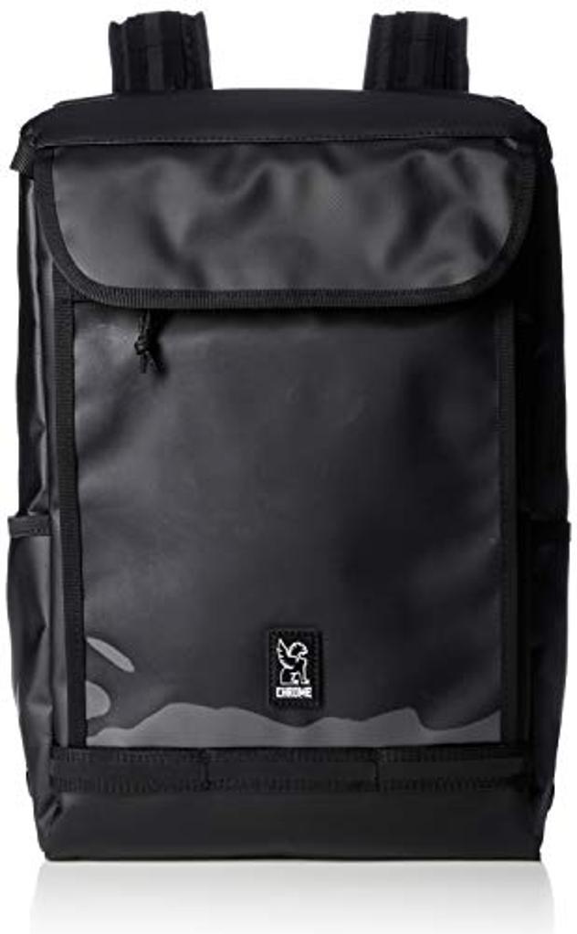 Chrome Industries Volcan Backpack Durable Tarp Exterior Bag 31 Liter Black Tarp/Clear