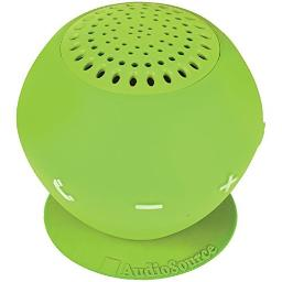 AUDIOSOURCE SP2GRE Sound pOp 2(TM) Water-Resistant Bluetooth(R) Speaker (Green) electronic consumer
