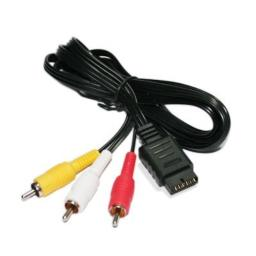 6-Feet RCA AV Audio/Video Cable for PlayStation and PlayStation 2 - Bulk Packaging